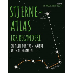 Stjerneatlas for begyndere - En tin for trin guide til natte