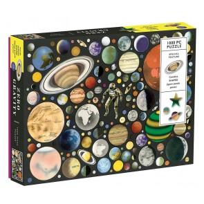 Zero Gravity - Planeter Puzzle (1000 brikker)
