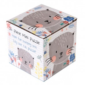 Lilly The Cat mini Puzzle (24 brikker)