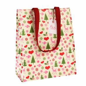 XMAS Recycled Shopping Bag