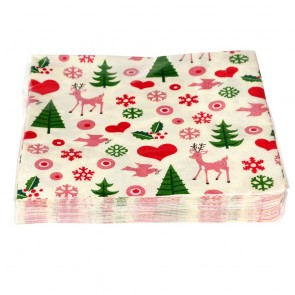 Christmas napkins (pack of 20)