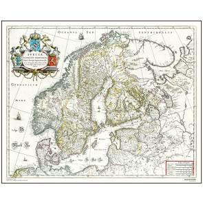 Skandinavien - år 1663