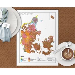 Danmarks Jordartskort Dækkeserviet