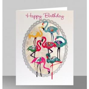 Happy birthday flamingoer