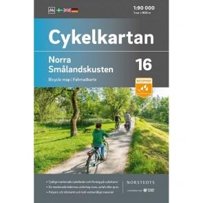 Norra Smålandskusten Cykelkartan