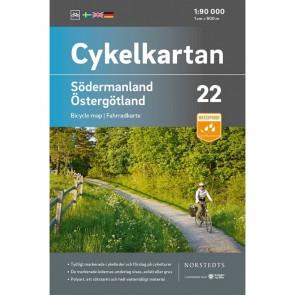 Södermanland/Östergötland Cykelkartan