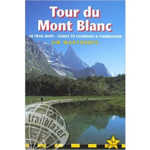 Tour of Mont Blanc - 50 trail maps