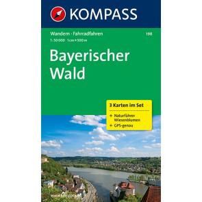 Bayerischer Wald (3 kort) m/ Naturführer