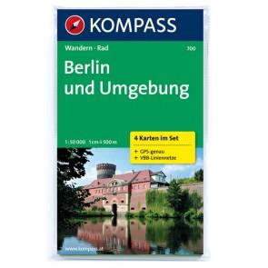Berlin und Umgebung (4 kort)
