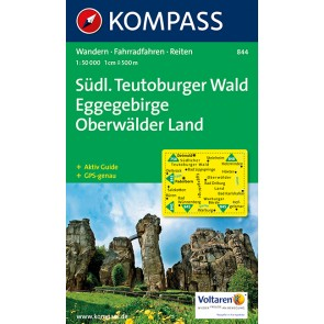 Südlicher Teutoburger Wald, Eggegebirge, Oberwälder Land