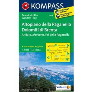 Altopiano della Paganella, Dolomiti di Brenta