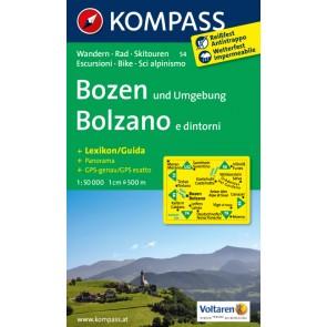 Bozen und Umgebung/Bolzano e dintorni
