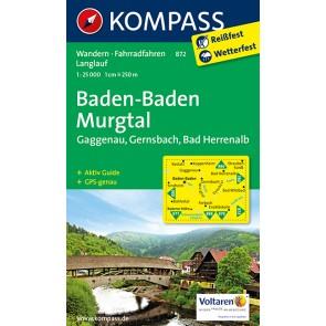Baden-Baden, Murgtal, Gaggenau, Gernsbach, Bad Herrenalb