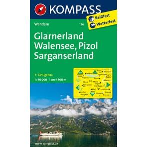 Glarnerland - Walensee - Pizol - Sarganserland