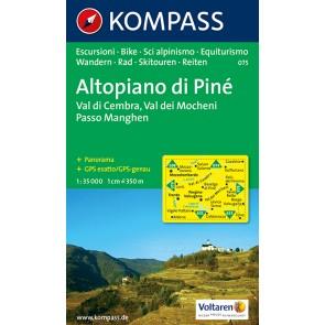 Altopiano di Piné, Val di Cembra, Val dei Mocheni