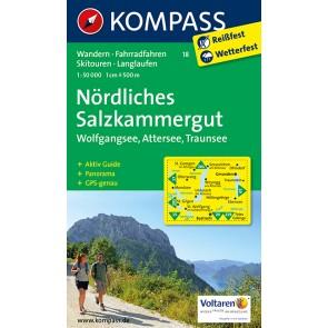 Nördliches Salzkammergut, Wolfgangsee, Attersee, Traunsee