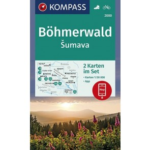 Sumava/Böhmerwald (2 kort)