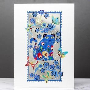 Blå kat