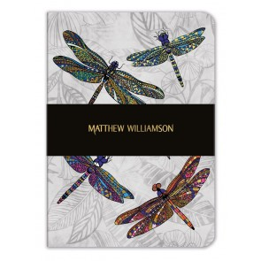 Dragonfly Dance A5 Luxury Notebook