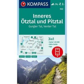 Inneres Ötztal, Gurgler Tal, Venter Tal, Pitztal