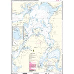 109 Limfjorden. Mors - Løgstør (kortmål 65 x 91 cm)