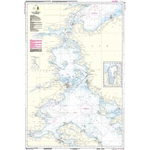 151 Lillebælt, Nordlige del (kortmål 66 x 98 cm)