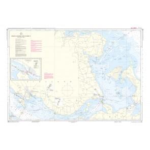 161 Smålandsfarvandet, Nordøstlige del (kortmål 98 x 67 cm)