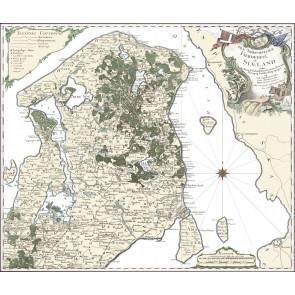 Den Nordøstlige del af Sjælland anno 1768