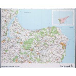 Trap Danmark: Kort over Norddjurs Kommune