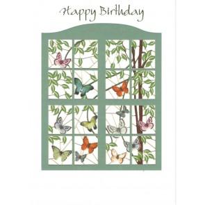 Happy birthday grønt vindue