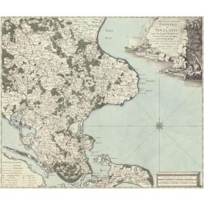 Sjælland med Møn anno 1770