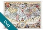 Verden år 1594 Voksdug