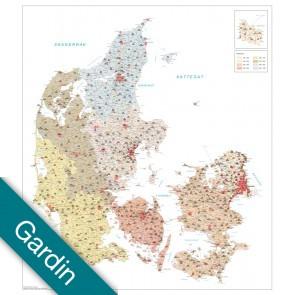 Danmark Postnumre Gardin