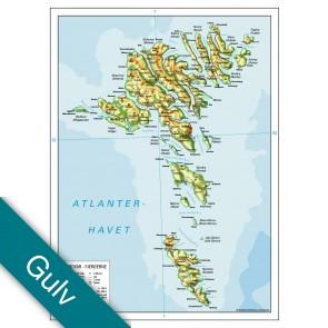 Færøerne  Gulvlaminering