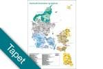 Danmarks kommuner og regioner Tapet