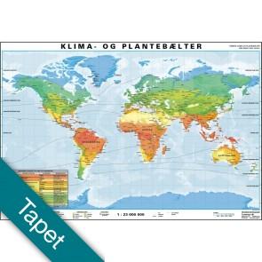 Klima- & Plantebælter Tapet