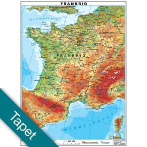 Frankrig  Tapet