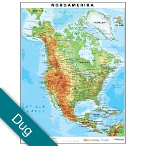 Nordamerika Voksdug