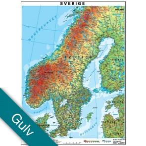 Sverige  Gulvlaminering