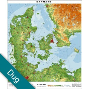 Danmark Voksdug