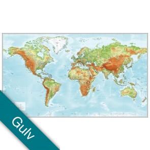 Verden Relief  Gulvlaminering