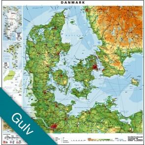 Danmark  Gulvlaminering