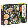 Zero Gravity - Planets Puzzle (1000 brikker)