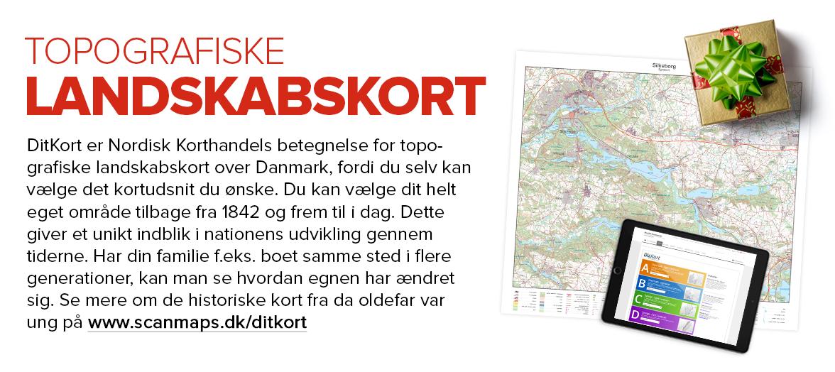 DitKort - Topografiske kort med eget centrum