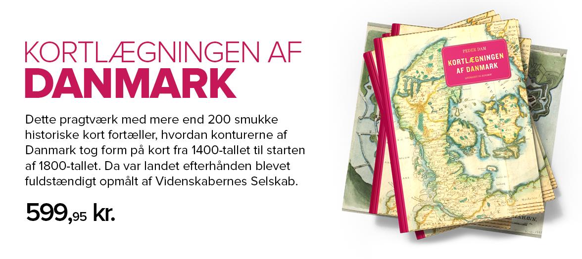 Kortlægningen af Danmark informationsbanner