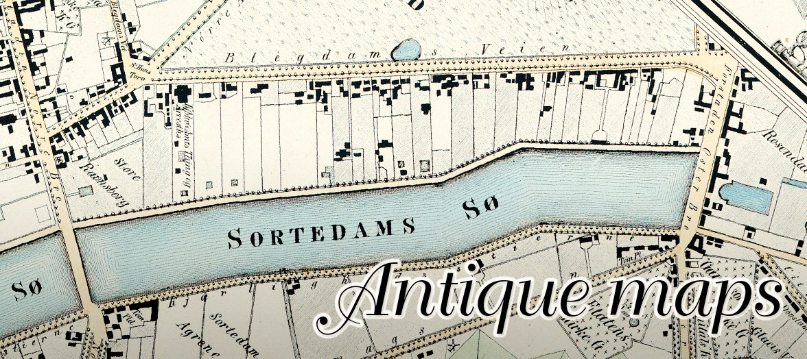 Antique maps of Denmark